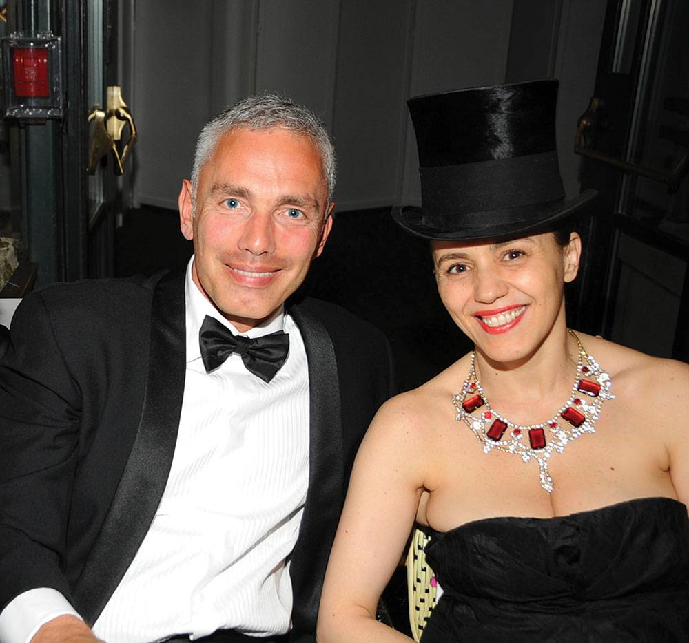Christian-Roth-and-Selima, at-CFDA-award-Ceremony diner