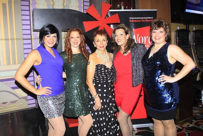 The D*Word-A Musical cast with show creator, Jeanie Linders. Photos: Ron Koch
