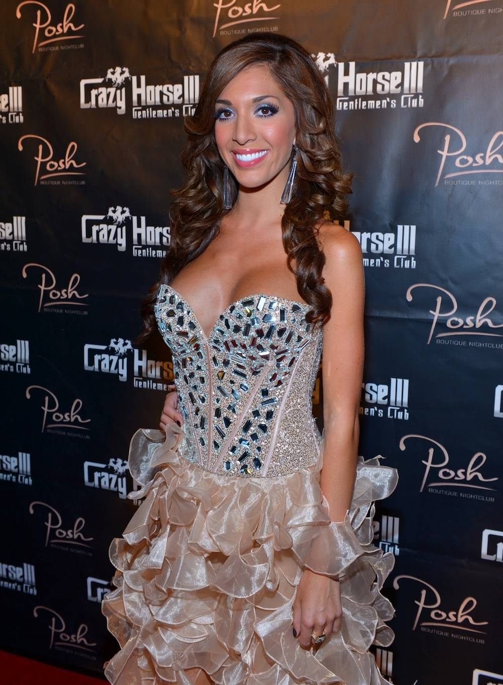 Farrah Abraham on the red carpet at Crazy Horse III. Photos: Bryan Steffy/WireImage