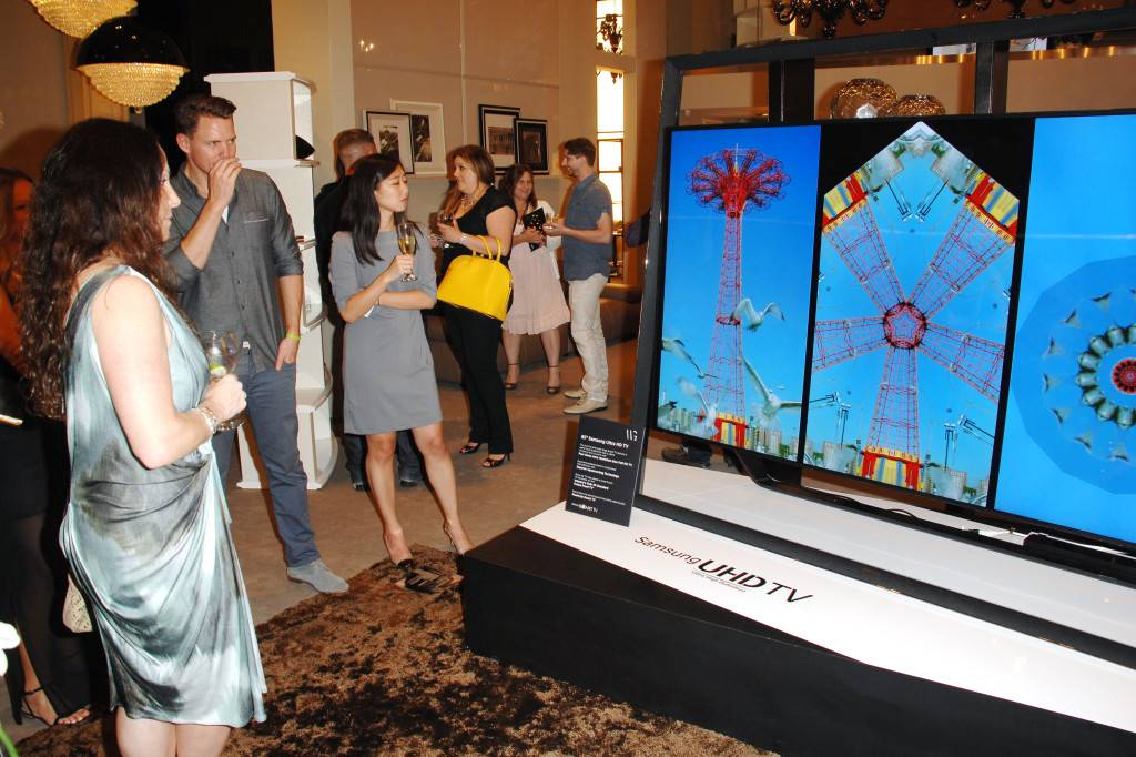 Samsung Ultra HD Art Tour: Fendi Casa hosts cocktail event featuring Samsung's S9 UHD TV - WEST HOLLYWOOD