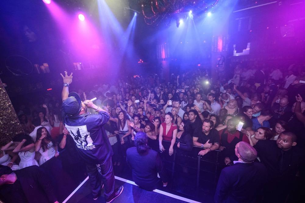 Ice Cube performs at Tao. Photos: Al Powers/Powers Imagery