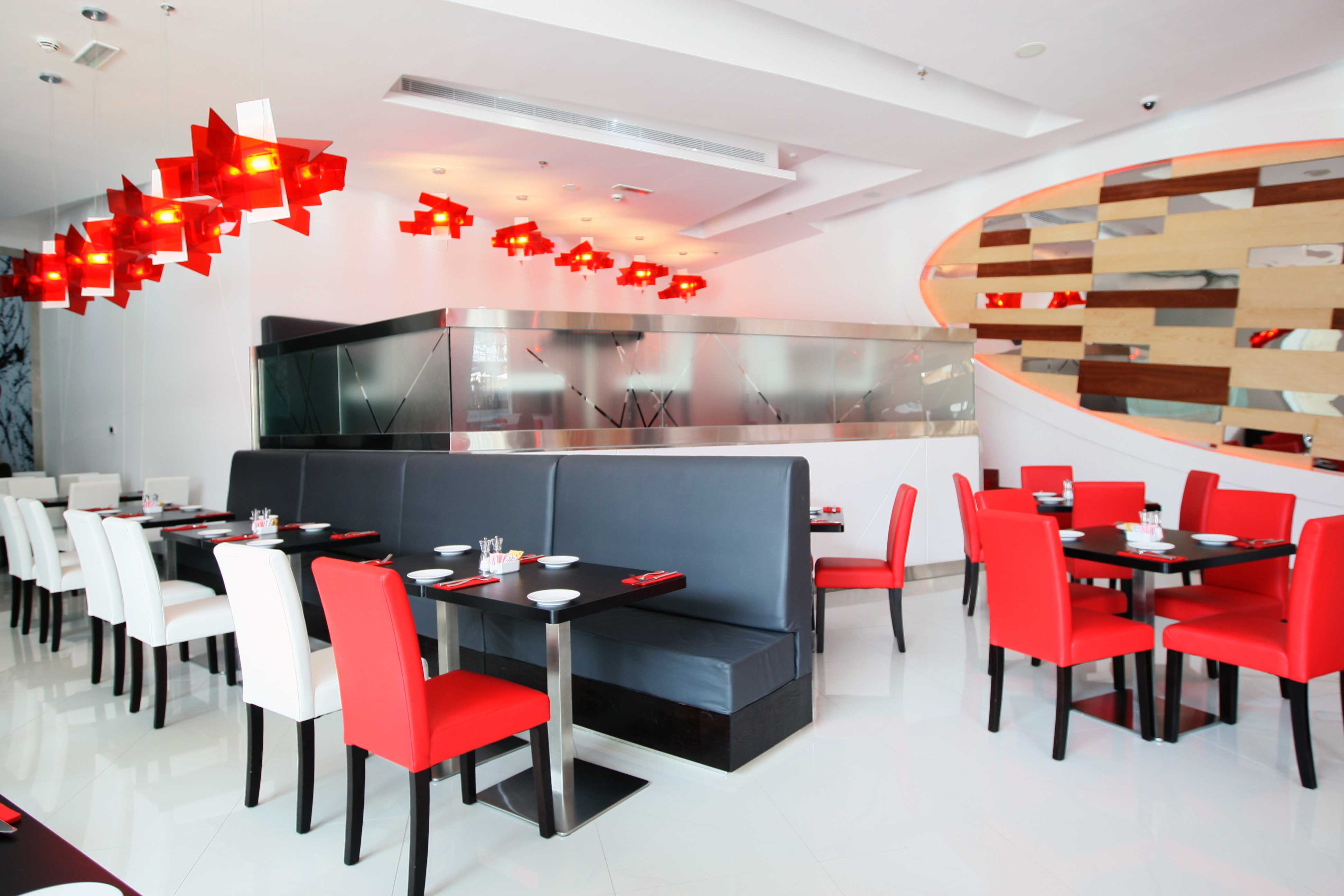 American diner ketchup opens in downtown dubai haute living for Dubai fashions home decorations