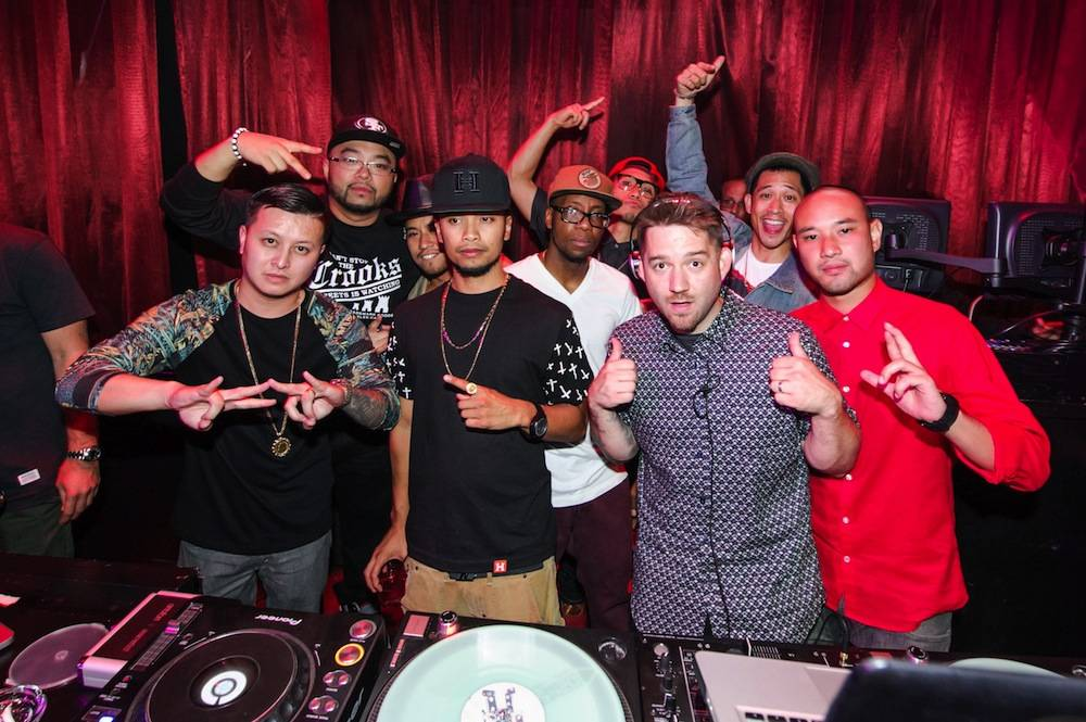 DJ Nick Ngo Bangerz,DJ Franzen, Phil Tayag, Chris Gatdula, Kevin Brewer, Ben Chung, DJ Goldenchyld, Joe Larot Phi. Photos: Brenton Ho/Powers Imagery LLC