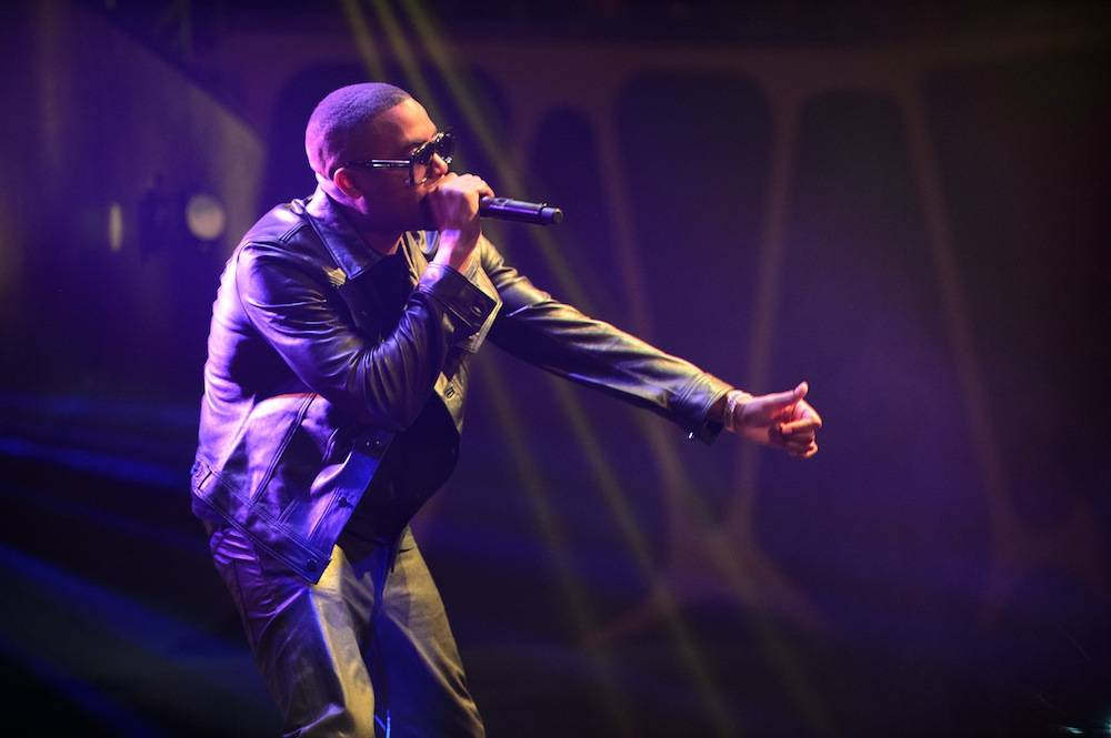 Nas performs at Hakkasan. Photos: Al Powers/Powers Imagery LLC
