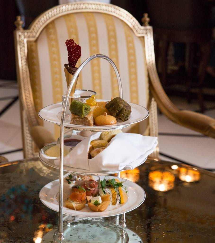 Ottoman Afternoon Tea - Sultans Lounge - Jumeirah Zabeel Saray