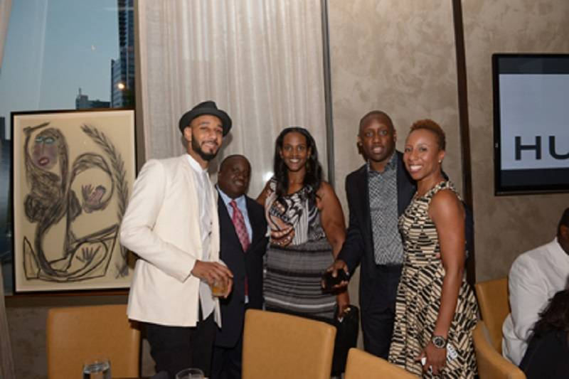 Swizz Beatz, Jeff Dixon, Ethiopia, Chaka Zulu & Marva Bradshaw of Hublot