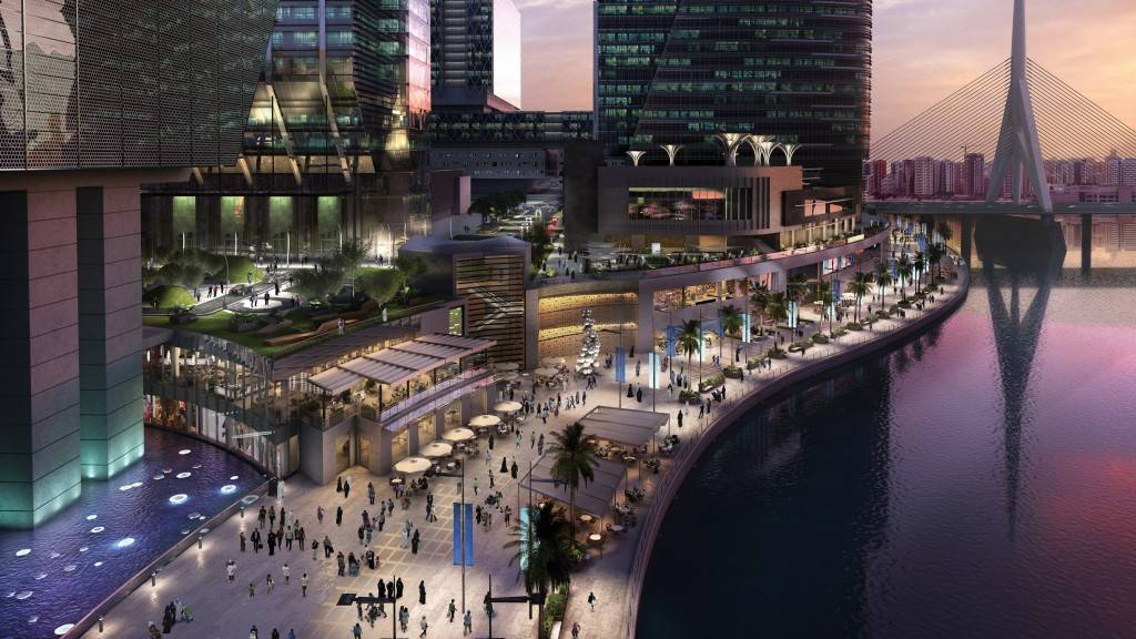 The Galleria on Al Maryah Island - promenade