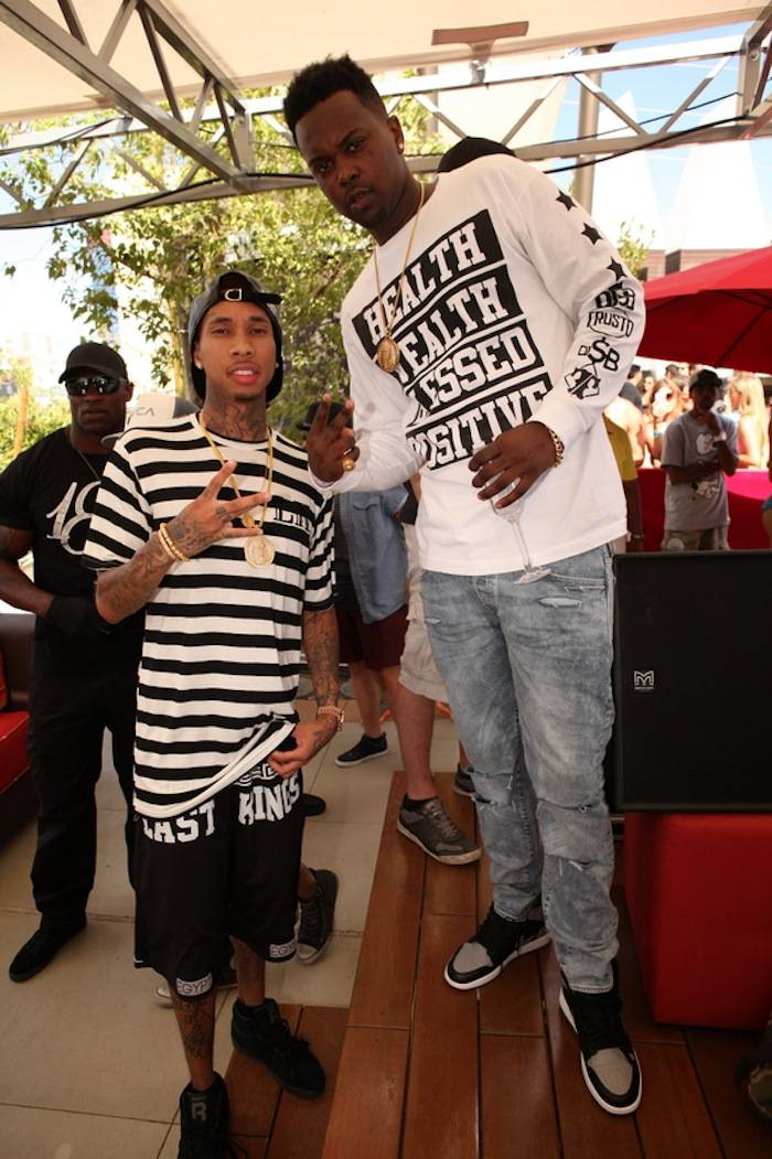 Tyga and DJ SB