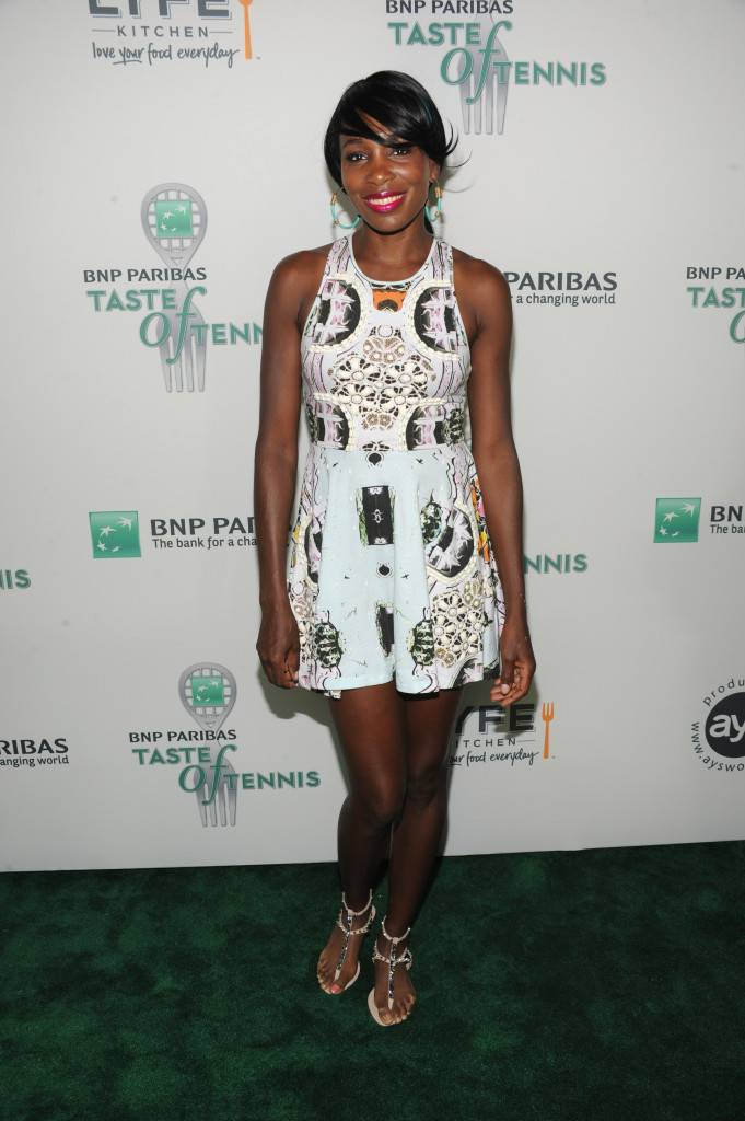 14th Annual BNP Paribas Taste Of Tennis, Hosted by Serena Williams - Arrivals