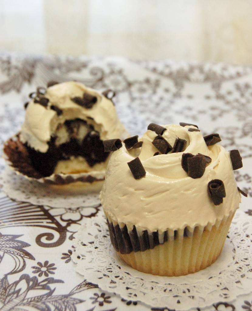 marble cupcake dessert of the month for August