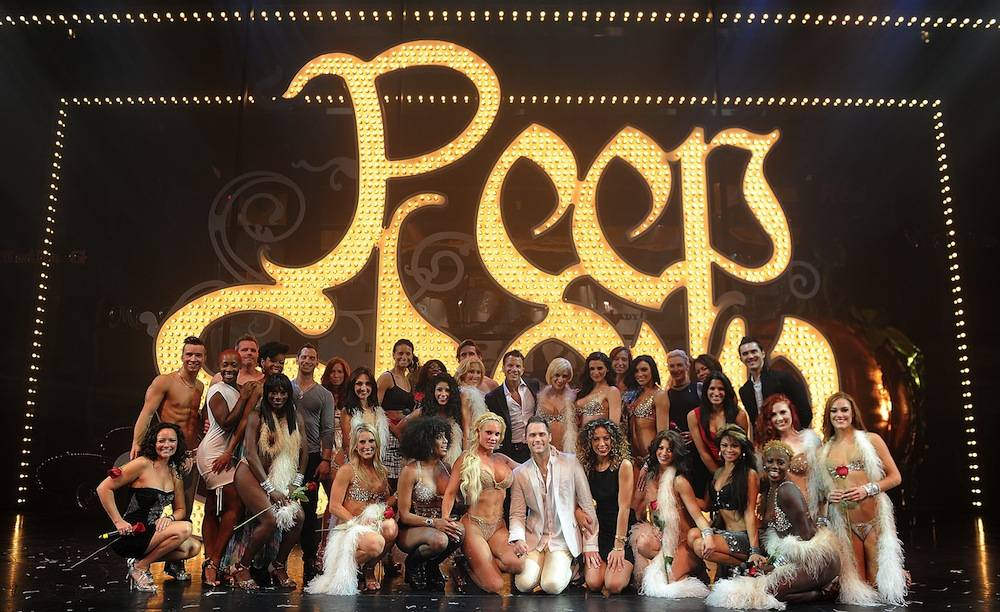 The cast of Peepshow. Photos: Denise Truscello/WireImage