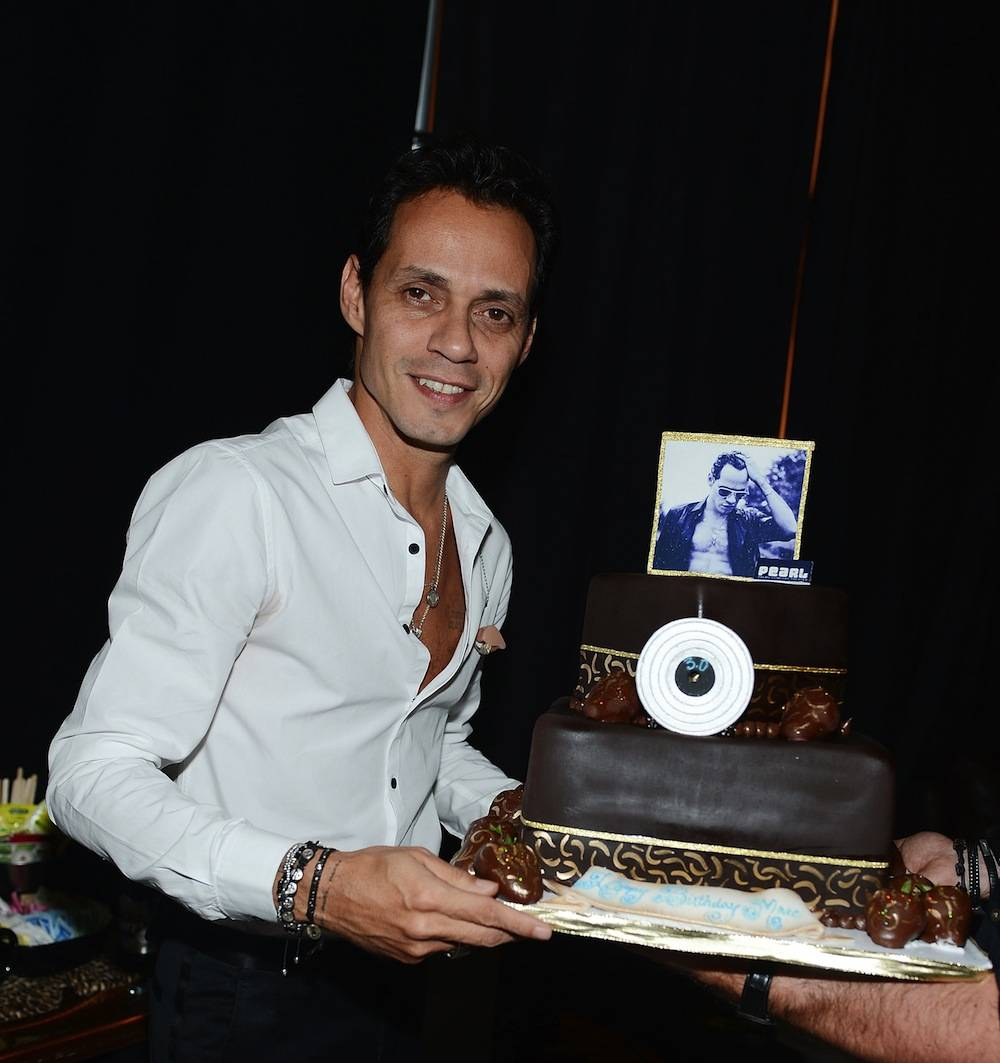 Marc Anthony celebrates his birthday at the Pearl at the Palms. Photos: Denise Truscello/WireImage