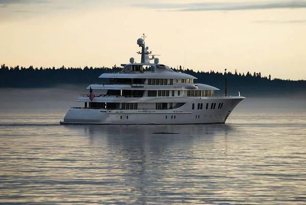 Rick Caruso's yacht