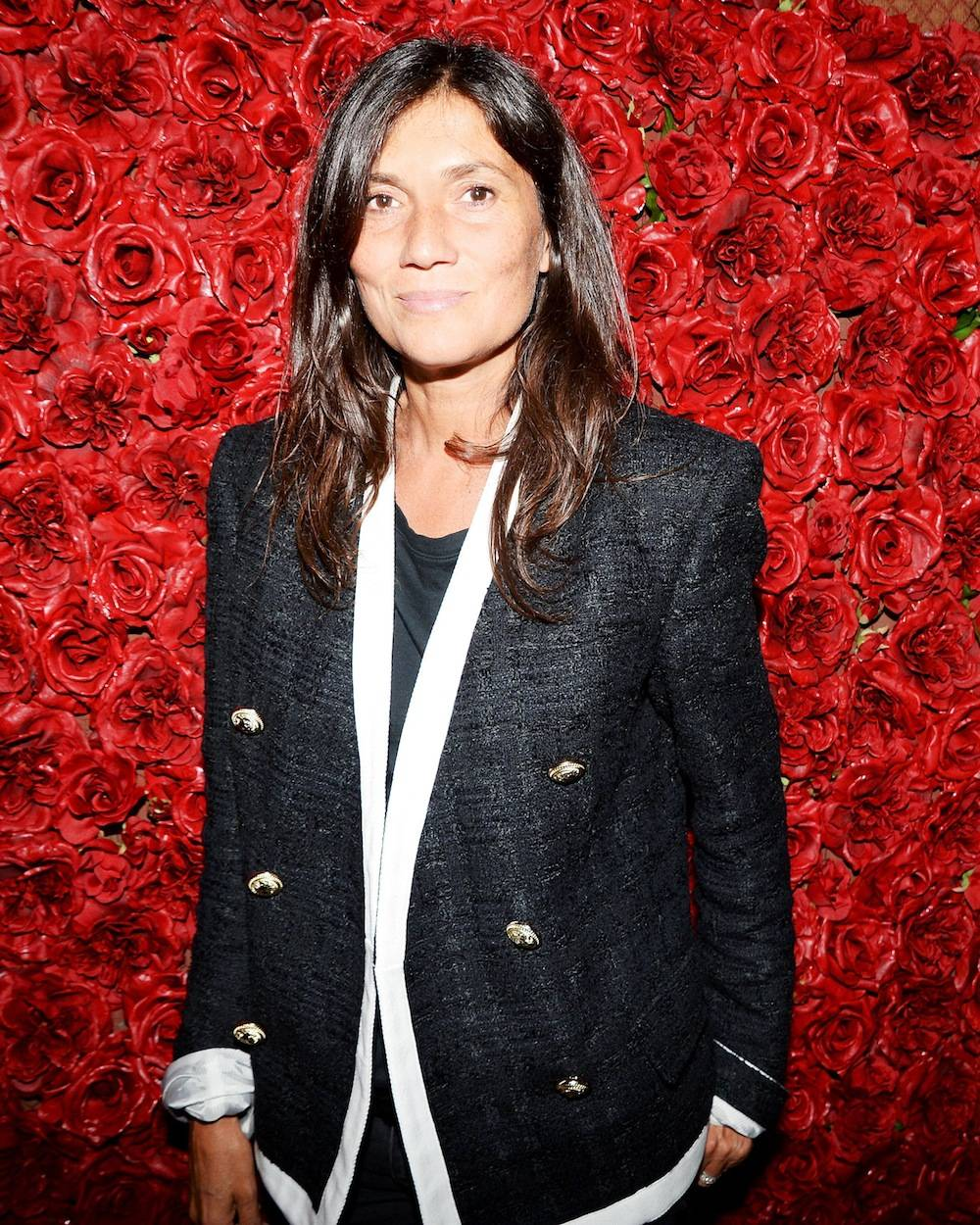 Vogue Paris editor-in-chief Emmanuelle Alt
