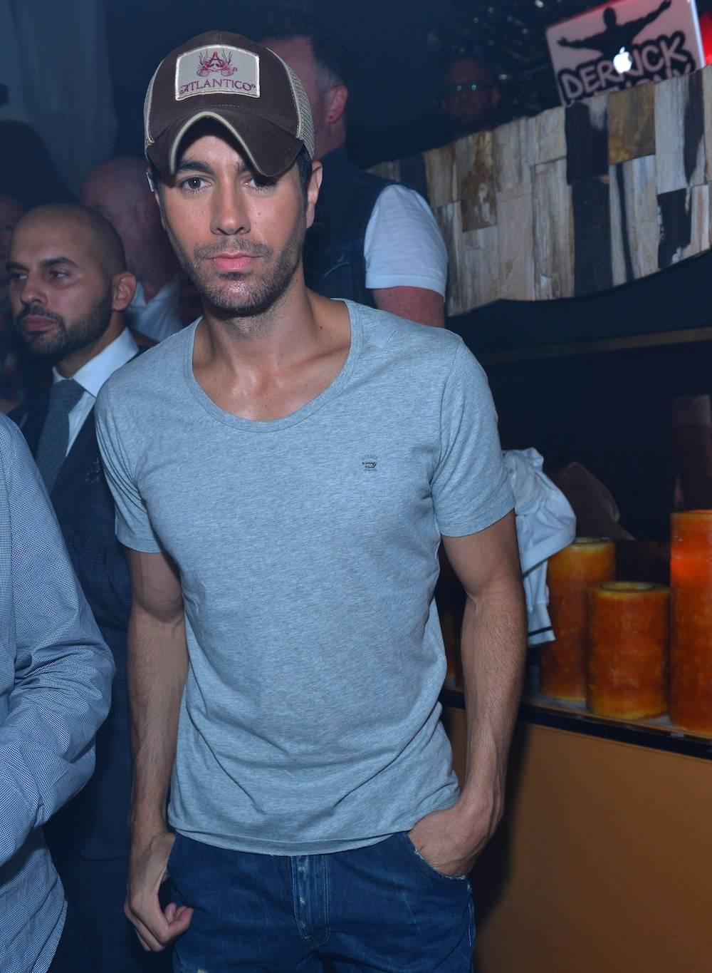 Enrique Iglesias at Hyde. Photos: Bryan Steffy/WireImage