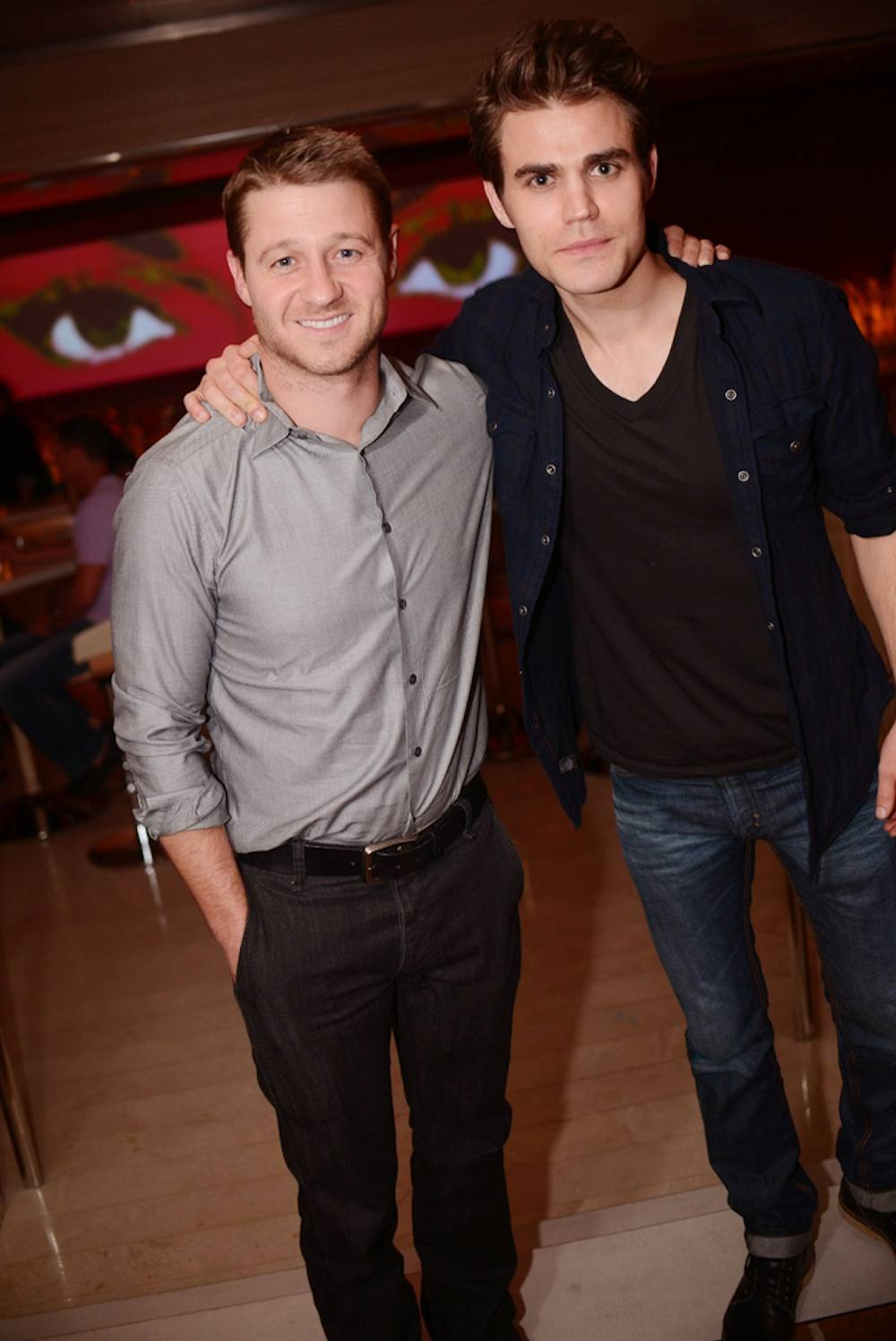 Ben McKenzie and Paul Wesley. Photo: Aaron Garcia
