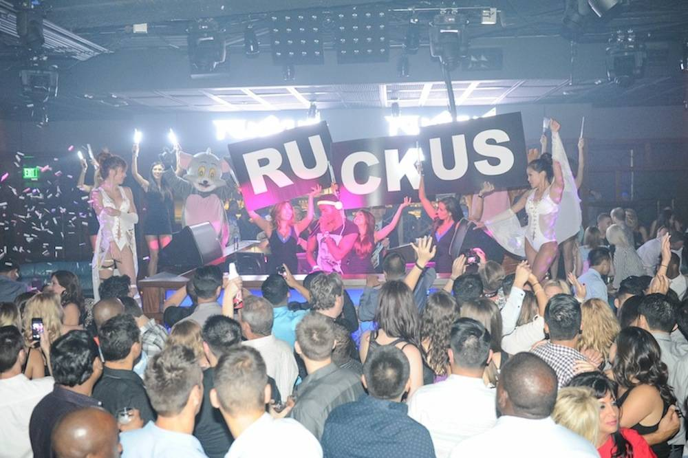DJ Ruckus at the Ling Ling Club