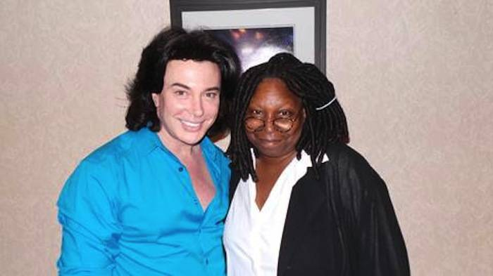 Frank Marino and Whoopi Goldberg