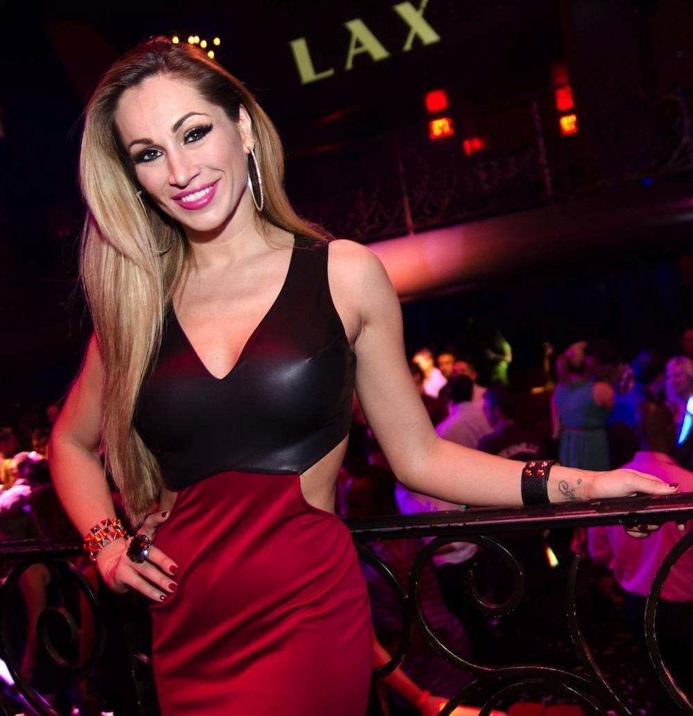 Fantasy's lead singer Jaime Lynch at LAX Nightclub. Photos Karl Larson/Powers Imagery