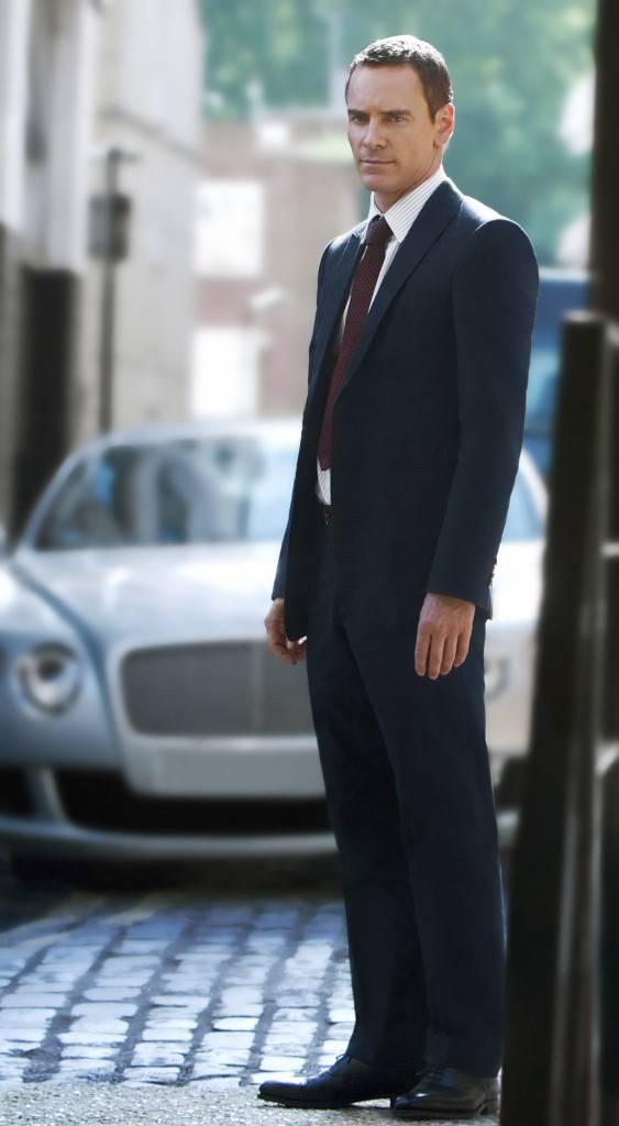 Michael Fassbender in Emporio Armani