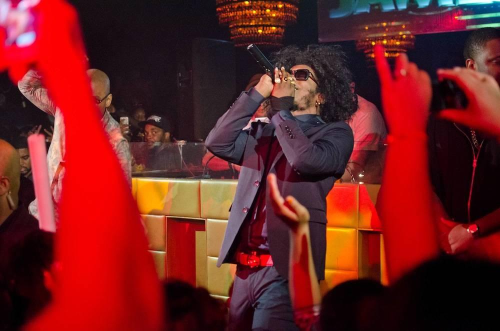 Trinidad Jame$ performs at Lavo. Photos: Karl Larson/Powers Imagery