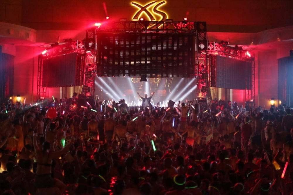 David Guetta at XS. Photos: Danny Mahoney
