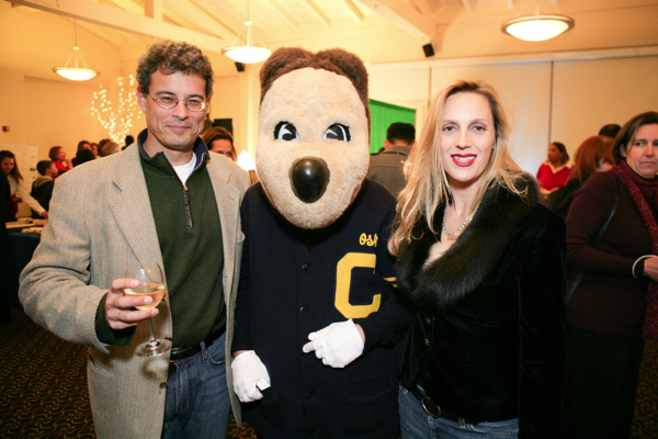 Christopher Caen, Oski, Stacey Caen (Event co-chairs)