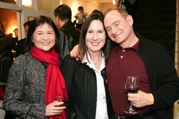 Lita Sam-Vargas (Host Committee), Susan Duryea (Honorary Chair), Alan Gevins