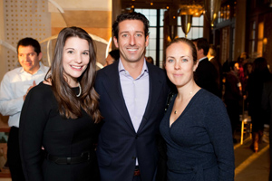 Kelsey Fithian, Gina Peterson, Daniel Lurie