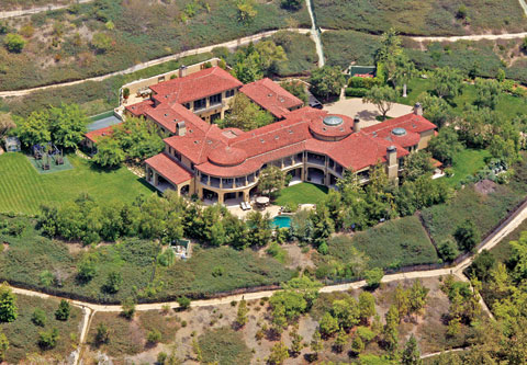 Celebrity living los angeles arnold schwarzenegger rod for Celebrity houses in los angeles
