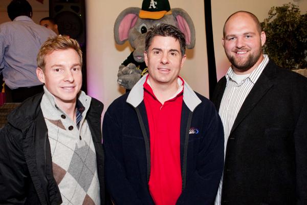 Chris Leitch, Dave Benz, Chris Morris