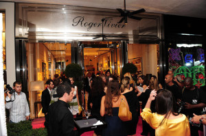 Atmosphere at Roger Vivier Bal Harbour Shops Opening Photo credit - Gustavo Caballero-Getty Image