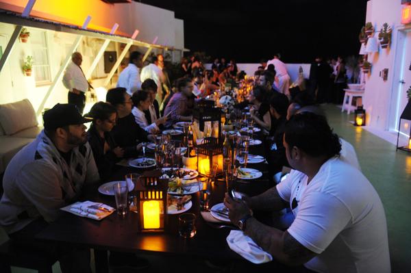 Armani Exchange dinner