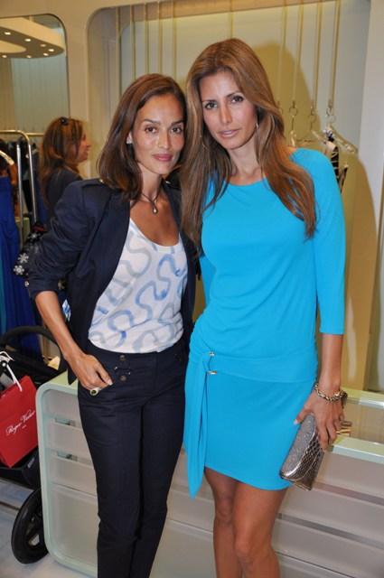 Leticia Grendene and Elsa Benitez