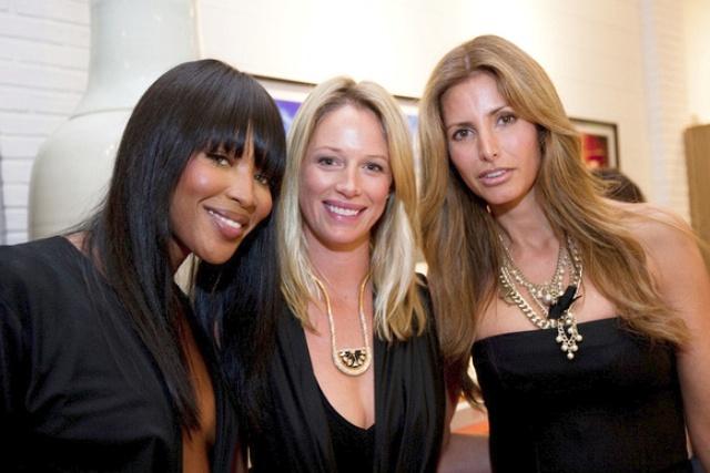 Naomi Campbell, Sara Colombo and Elsa Benitez