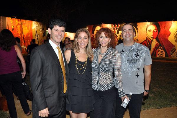 Scott Srebnick, Jessica Goldman-Srebnick, Janet Goldman, Joey Goldman