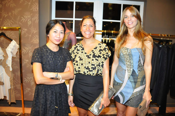 Stephanie Tran, Lisa Lavora, and Lisa Lupinski