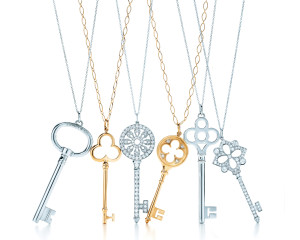Tiffany Key Collection, Photo Credit Tiffany & Co.