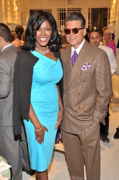 NBC's Trina Robinson and Rob Adams