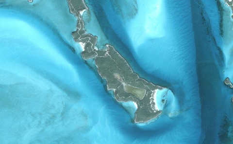 "Johnny Depp bought this island called ""Little Hall's Pond Cay"" in 2004."