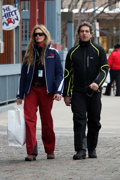 Elle MacPherson and boyfriend Jeff Soffer