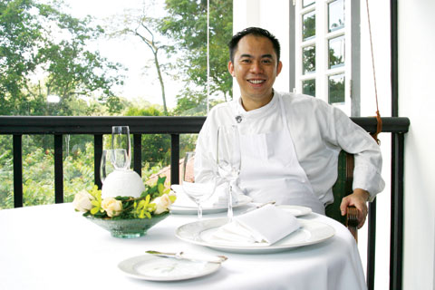 Au jardin singapore botanic garden with chef galvin lim for Au jardin singapore