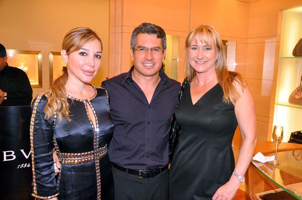 Marysol Patton, Nicole Lozano, and husband