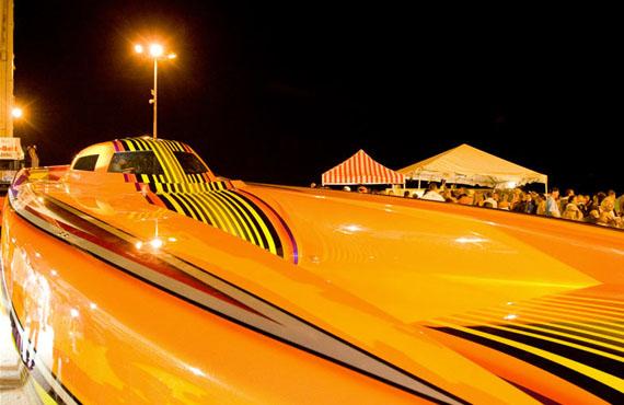 World's Fastest Boat Debuts At Miami Beach Convention Center - Haute ... Fastest Speedboat In The World